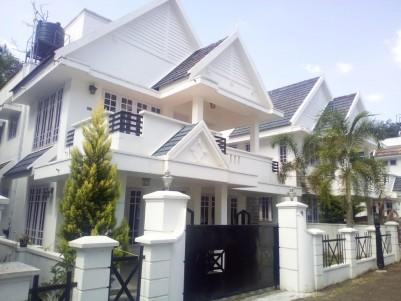 2200 SqFt Modern Interior Work Villa in 5.75 Cents for sale near Medical College, Kottayam