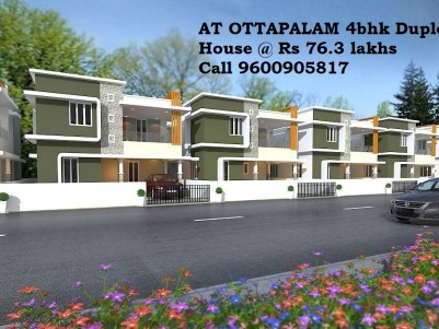Ready to Move-Tension Free Loan - Duplex 4 BHK House @ Ottapalam