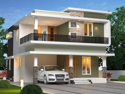 4 Cent- 4 BHK Duplex House near Ottapalam