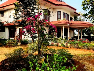 6000 SqFt  Luxurious Villa for Sale  in Pudussery,Palakkad