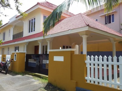 2500 sq.ft Double Storied Brand New House in 8.9 cents  for sale at Kanjikuzhy,Kottayam