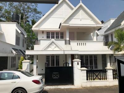 3BHK, 2400 SqFt Gated Community Villa for Sale in Kottayam.