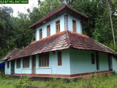 5 ACRE FARM LAND WITH A HOUSE FOR SALE AT POOTHADI,WAYANAD