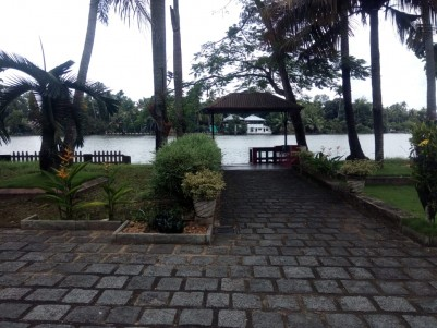 Beautiful Waterfront Property in 65 Cents for Sale at Kothad,Ernakulam