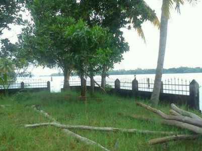 Beautiful Lake Front Property for sale at Thavanakadavu -Pallipuram Road,Alappuzha
