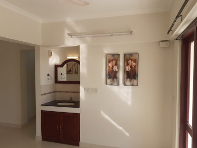 3 BHK Semi-Furnished Flat for sale in the  Heart  of Trivandrum