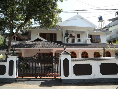 Two Storey House in 10.3 Cents for sale at Tripunithura, Ernakulam