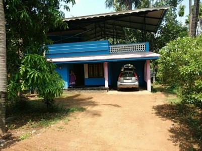 2 BHK 1200 SqFt  House in 43.5 Cent s for sale at Mala,Thrissur