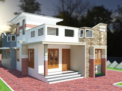 2BHK 1000 SqFt House in 5 Cents for sale near Info Park,Kakkanad
