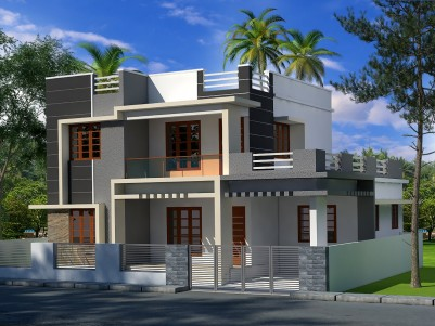 4 BHK 1950 SqFt  House in 5 Cents near Info Park,Ernakulam
