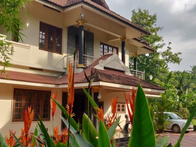 Fully Furnished 4 BHK 2200 SqFt Villa  in 8 Cents for sale at Muvattupuzha Town,Ernakulam
