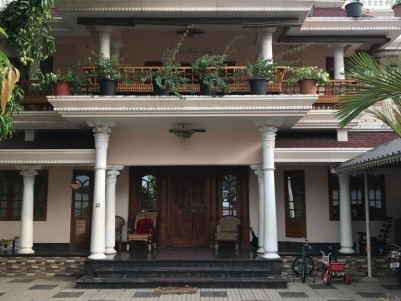 2300 sqft 3 BHK Fully furnished House in 11 Cents for sale at Aluva Ernakulam