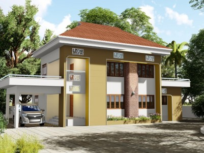 4 BHK House in 13 Cent for sale near Pravithanam, Pala