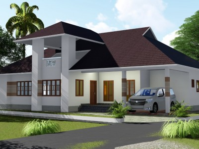 4 BHK 2400 sqft House in 13 Cent for sale near Pravithanam, Pala