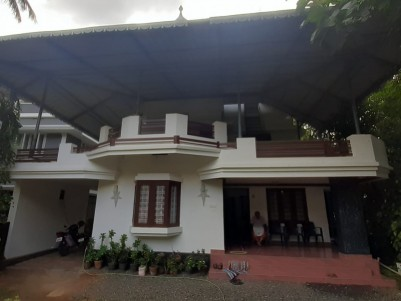 2000 sqft House in 10 Cent for sale at Ollur Near highway, Thrissur