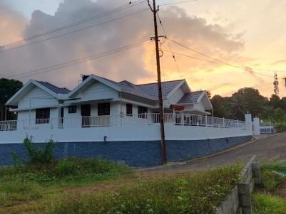 3 BHK 1870 SqFt   House in 11 Cents  Very near to Akkarappally, Bishop house Kanjirappally, Kottayam