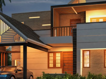 Luxurious Kerala style villas for sale in Ottapalam