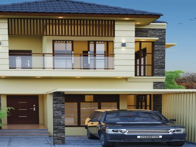 KUBERA VILLA - A Vaastu-compliant 3BHK Villa Project at Kalmandapam Jn, Palakkad