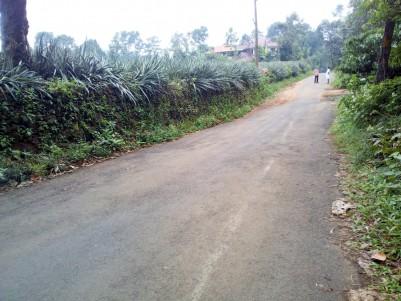 1.52 Acre Residential land for sale near Bharananganam, Pala, Kottayam