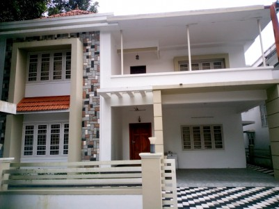 Fully Furnished 4 BHK Gated Community Villa for sale at Abad gardens, Caritas, Kottayam