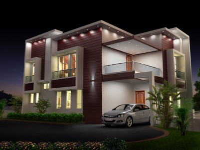 4 BHK Gated Villa for sale at Nettoor, Near Lakeshore Hospital, Ernakulam