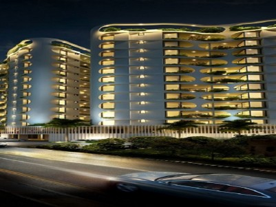 JOS ALUKKAS PROPERTIES - MODERN LUXURY APARTMENT - Golden ARK for sale at Trivandrum