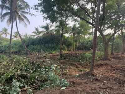 41 Cents of Water Frontage Plot for sale at Puthenvelikara, Ernakulam