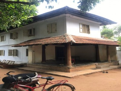 Ancestral Two Storey Tiled Building with Nadu Muttom for sale at Kozhikode