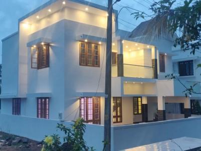 New 4 BHK 2100 SqFt House in 5 Cents for sale at Chottanikkara, Thrippunithura, Ernakulam