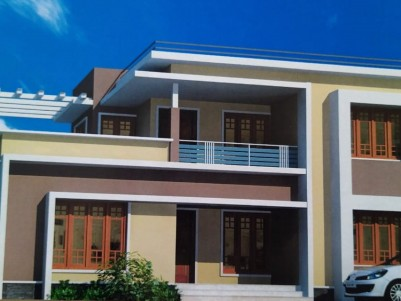 New Constructed 3 BHK 2250 Sqft House in 11 Cents at Vazhakkala, Kakkanad, Ernakulam