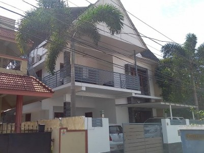 Fully Furnished 2200 sqft 4 BHK Villa in 4.2 Cents for sale at Keerthi Nagar, Kaloor, Ernakulam