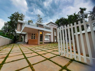 2250 sqft Luxury Villa in 8 Cents for sale at Marampilly, Perumbavoor, Ernakulam