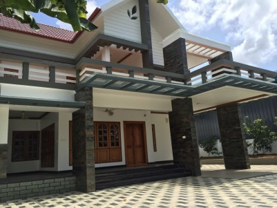 Fully Furnished 4 BHK Luxury Villa for sale at Vengaloor, Thoddupuzha town, Idukki