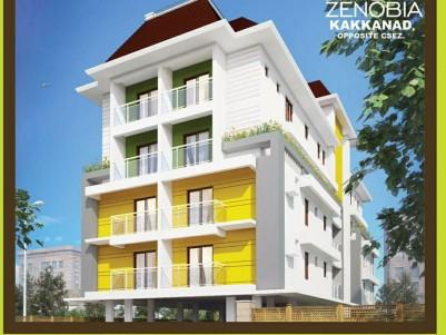 Semi Furnished Flat for sale Opposite of CSEZ, Ernakulam