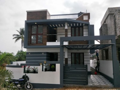 Semifurnished 3 BHK Villa on 3.5 Cents for sale at Near Rajagiri Hospital, Kalamasery, Ernakulam