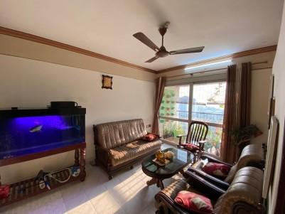 Fully Furnished 3 BHK 1630 sqft Flat for sale at Golden Enclave, Kanjikuzhy, Kottayam