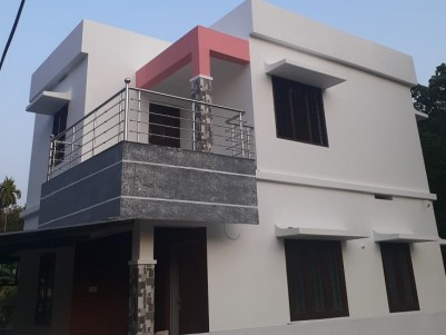 3 BHK 1300 SqFt House in 4 Cents for sale at Mulamthuruthi, Ernakulam