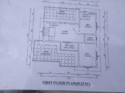 4 BHK 1995 sqft House in 6 Cents for sale at Kakkanad, Pallikkara, Ernakulam