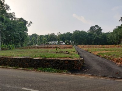 House Plots for sale Alanad, Near Choondacherry, Pala, Kottayam
