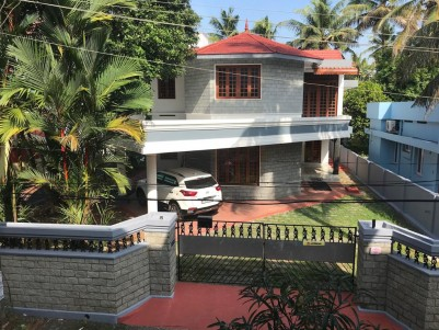 Semi Furnished 4 BHK House in 11.4 Cents for sale at Thykoodam, Vyttila, Ernakulam