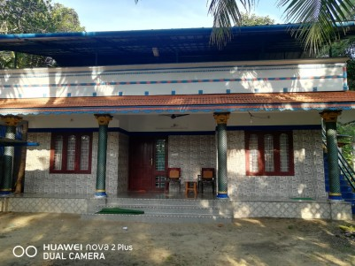 8 Cent Land with House for sale at Pathiyoor- Kannamangalam route, Alapuzha