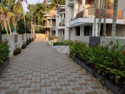 Full Furnished 2400 sqft 4 BHK Gated Villa in 4.25 Cents for sale at Edappally, Ernakulam