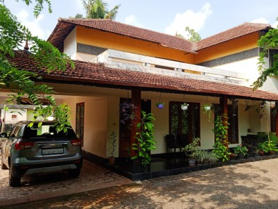Main road facing 25 Cents land with House for sale at Alleppey town