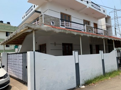 Semi-furnished House in 4.5 Cents for sale at Ponnekara, Ernakulam