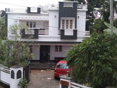 8 Cents with Two storied 2400 Sqft House for sale at Pinarmunda, Ernakulam