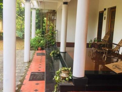 New Traditional Naalu Kettu Design House for sale at Puthangady, Kottayam