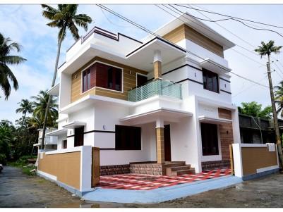 4 BHK 1400 Sqft House for sale Near Arattukadavu bridge, Kottuvally, Ernakulam