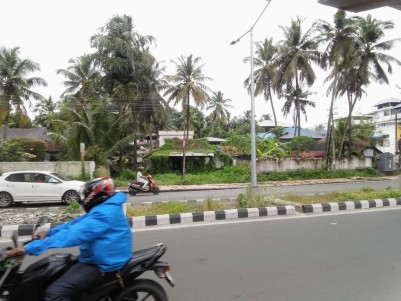 Main Road Frontage Commercial Land for sale at Near Metro Station, Thaikoodam, Vyttila