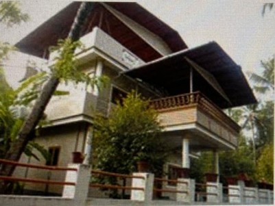 River view Brand New 4 BHK House in 15 Cents for sale at Puthukad, Trichur