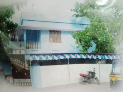 3 BHK Two Storeyed House in perfect Residential area for sale in Kattaikonam near Bypass road, Tvm